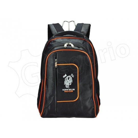 Harvey Miller Polo Club MON965 černá + oranžová
