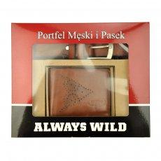 Always Wild PSB-N7-01-GG hnědý