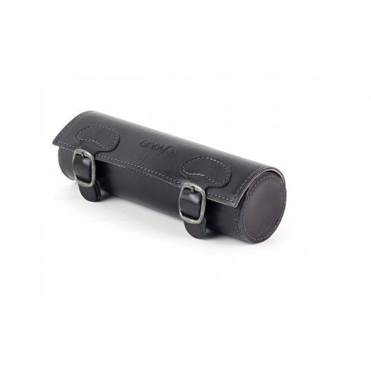 Kožené pouzdro na brýle GR05 - černé