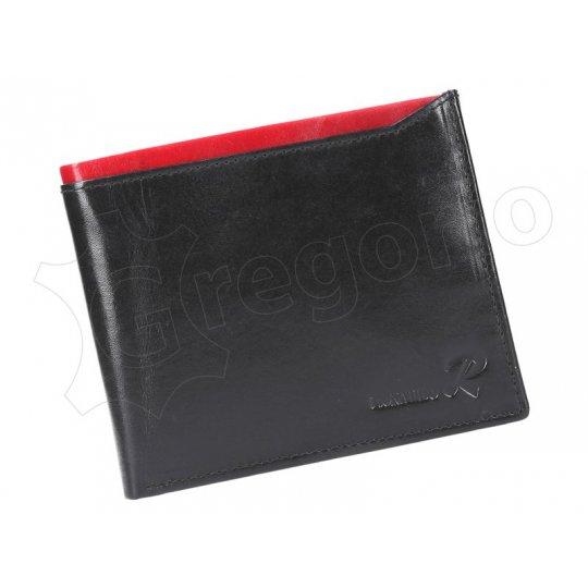 Ronaldo N992-VT RFID černá + červená